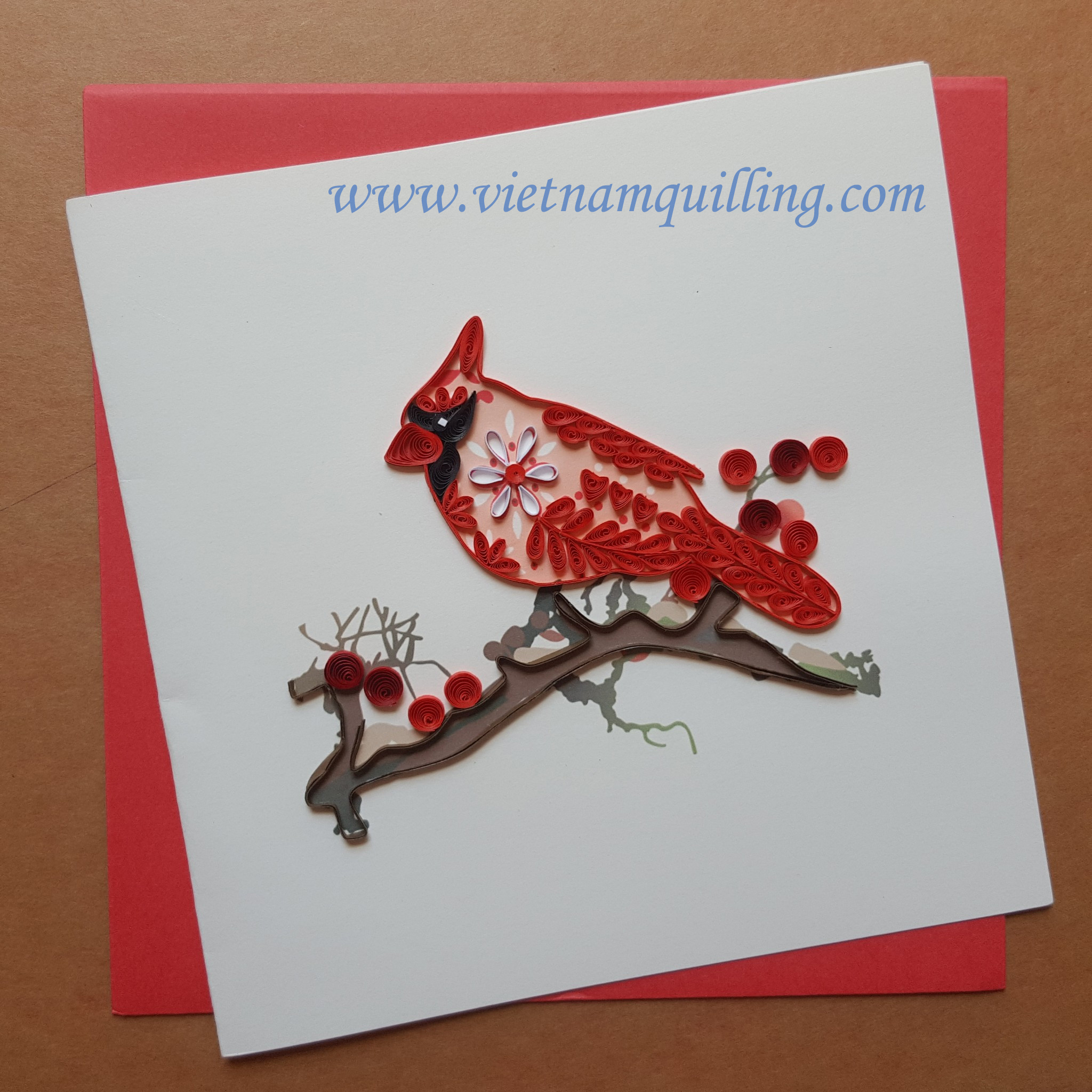 Quilling animal card | Vietnam quilling greeting cards manufacturer