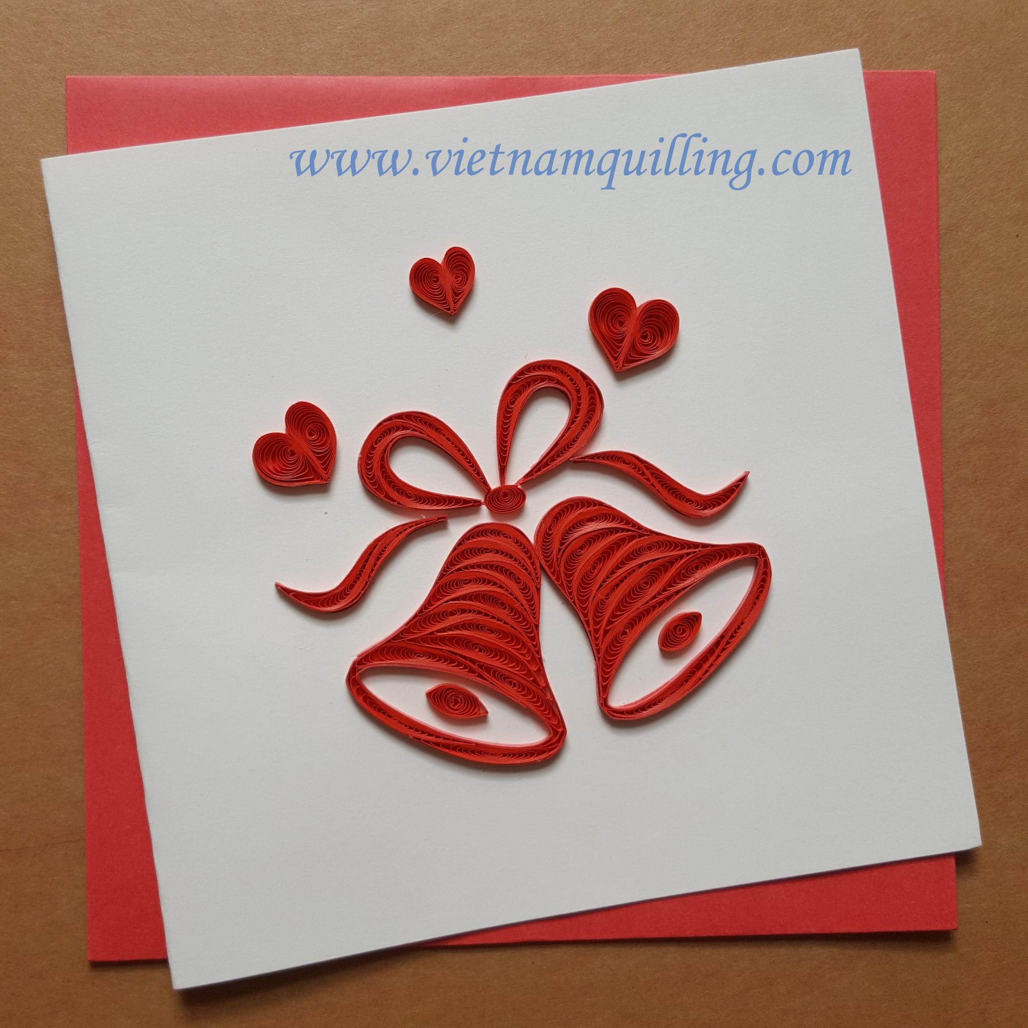 Квиллинг открытки к свадьбе 78